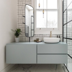 AC3107 - Lacquer finish bathroom vanity